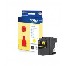 Brother LC121 amarillo | Cartucho de tinta original LC121Y