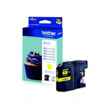 Brother LC123 amarillo | Cartucho de tinta original LC123Y