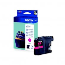 Brother LC123 magenta | Cartucho de tinta original LC123M