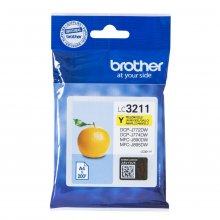 TINTA ORIGINAL BROTHER LC3211 / LC-3211Y AMARILLO