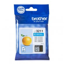 TINTA ORIGINAL BROTHER LC3211 / LC-3211C CYAN