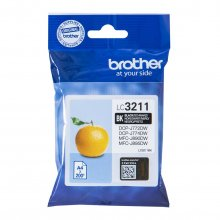 TINTA ORIGINAL BROTHER LC3211 / LC-3211BK NEGRO