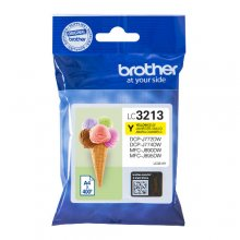 TINTA ORIGINAL BROTHER LC3213 / LC-3213Y AMARILLO