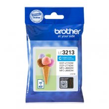 TINTA ORIGINAL BROTHER LC3213 / LC-3213C CYAN