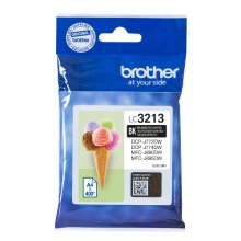 TINTA ORIGINAL BROTHER LC3213 / LC-3213BK NEGRO